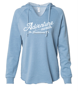 Adventure Awaits Wave Wash Hoodie