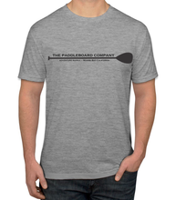 Load image into Gallery viewer, Men's Paddle Logo Short Sleeve T-Shirt (Heather Gray)