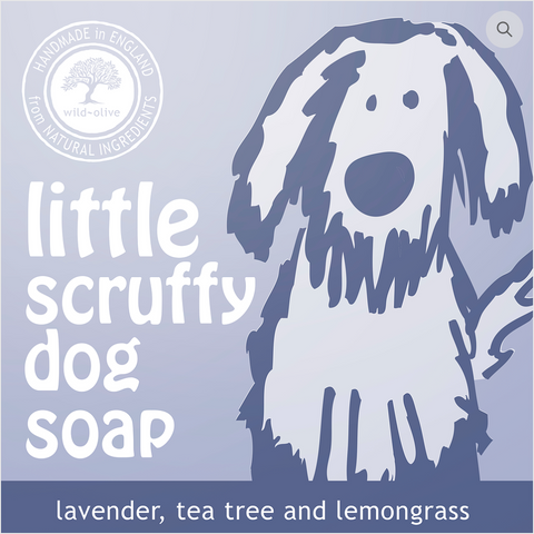 Little Scruffy Dog Soap