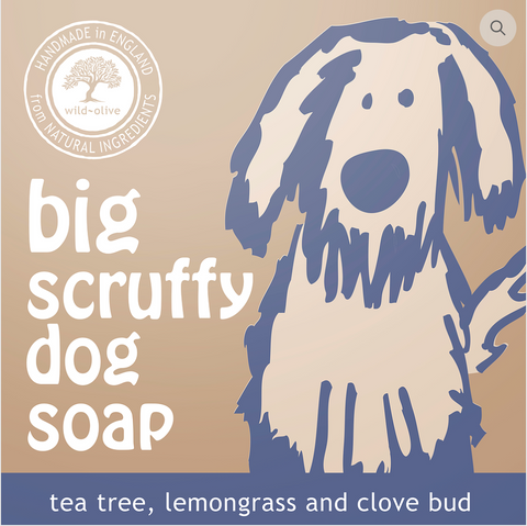 Big Scruffy Dog Soap