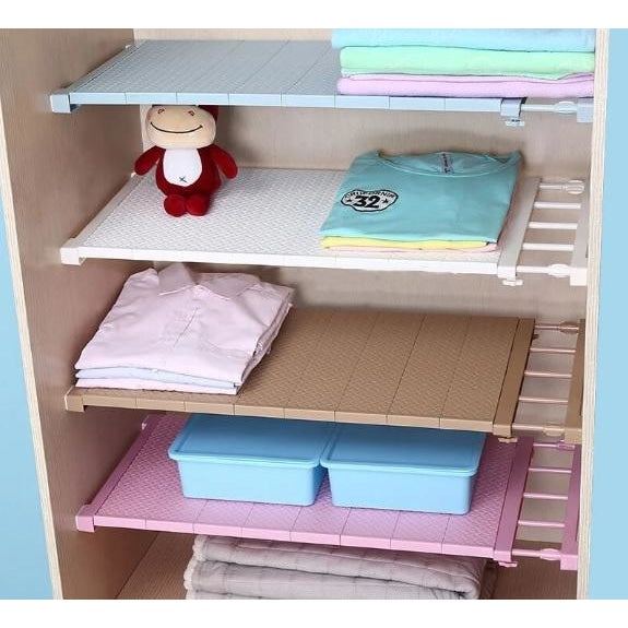 Adjustable Closet Shelf