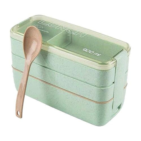 Bento Style Lunchbox - Green