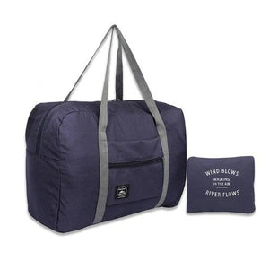Foldable Travel Bag - Navy Blue