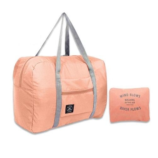 Foldable Travel Bag - Pink