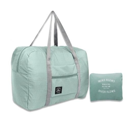 Foldable Travel Bag - Sky blue