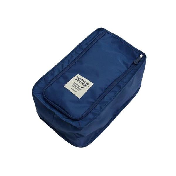 Travel Shoe Storage Bag - Dark Blue