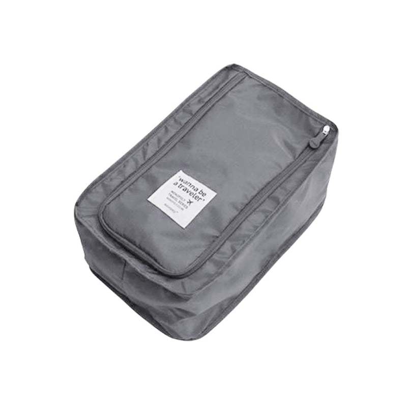 Travel Shoe Storage Bag - Gray