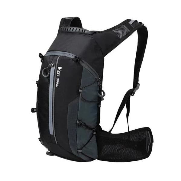 Ultralight 10L Cycling Backpack - Gray+Water bag