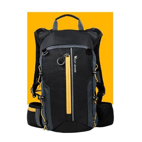 Ultralight 10L Cycling Backpack - Yellow+Water bag