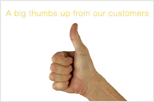 A big Thumbs up!