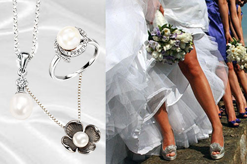 Choosing Silver Jewellery for a Wedding Day