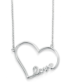 Love to Love Silver Heart Necklace