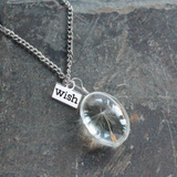 Angel Wishes Silver Necklace