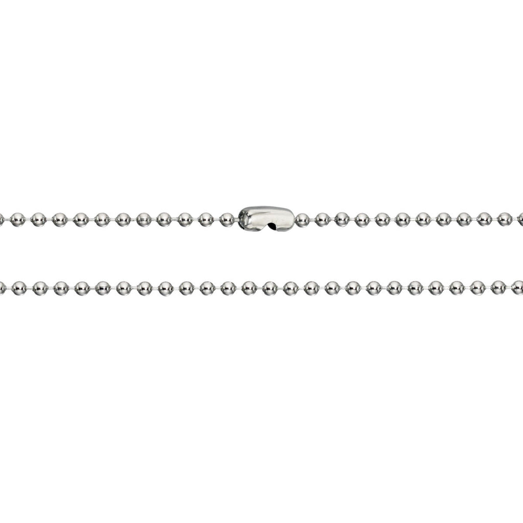 Ball Style Stainless Steel Mens Chain