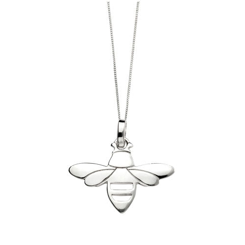 Buy be happy sterling silver bee pendant for 2499 uneak boutique be happy sterling silver bee pendant aloadofball Choice Image