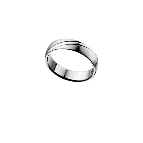 Biden Stainless Steel Mens Ring