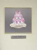 Cake Congratulations Handmade Wedding Card