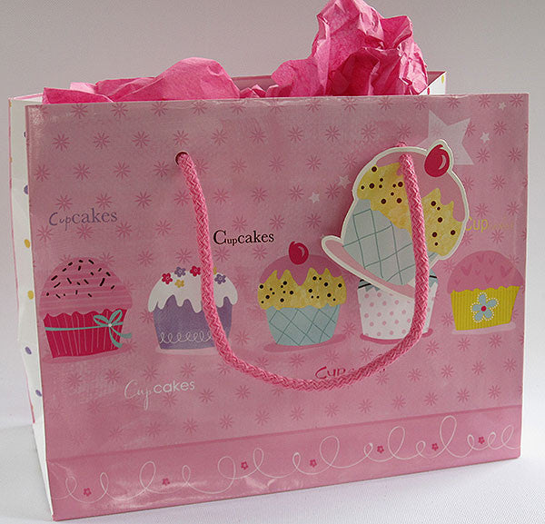 Cup Cakes Gift Bag
