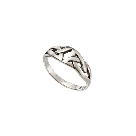 Celtic Style Sterling Silver Toe Ring