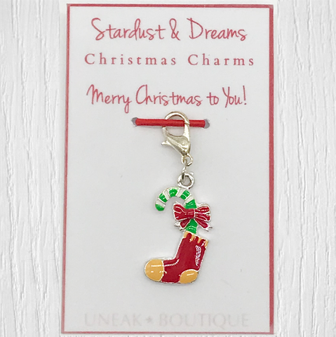 Christmas Stocking Clip Charm