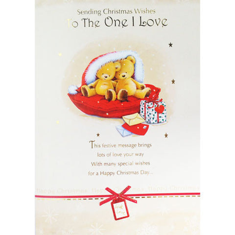 Christmas Wishes to The One I Love Christmas Card