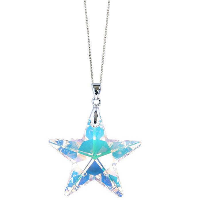 Crystal AB Star Pendant by Love Lily