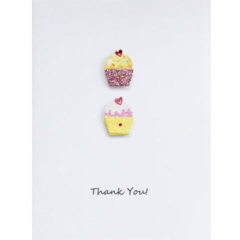 Cupcakes Thank You Card