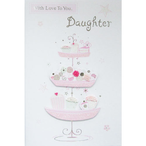 Buy Handmade Daughter Birthday Card For 149
