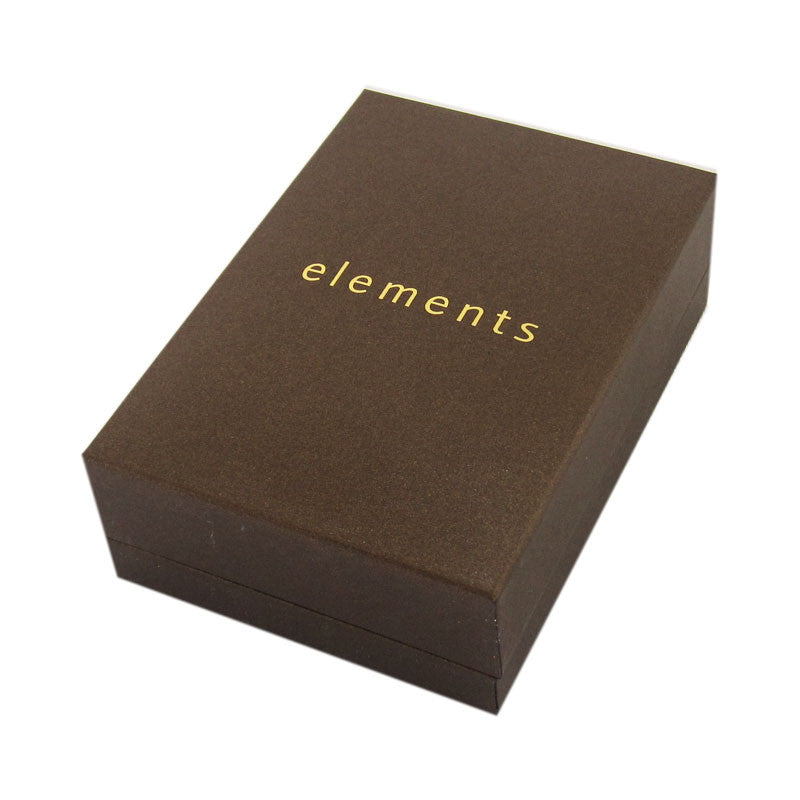 Elements Gold Long Earrings or Pendant Box