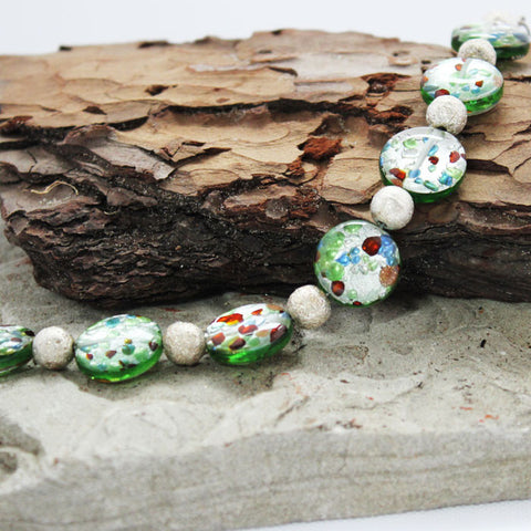 Emerald Lakes Handmade Bracelet by Love Lily