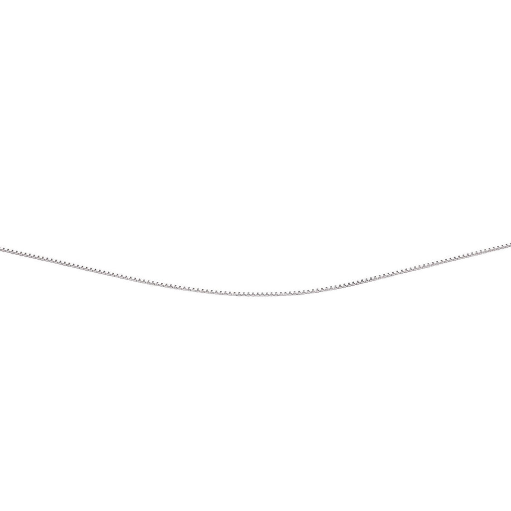 Lightweight Sterling Silver Box Chain 16 inch