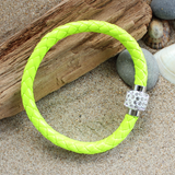 Fresh Lime Harlequin Bracelet
