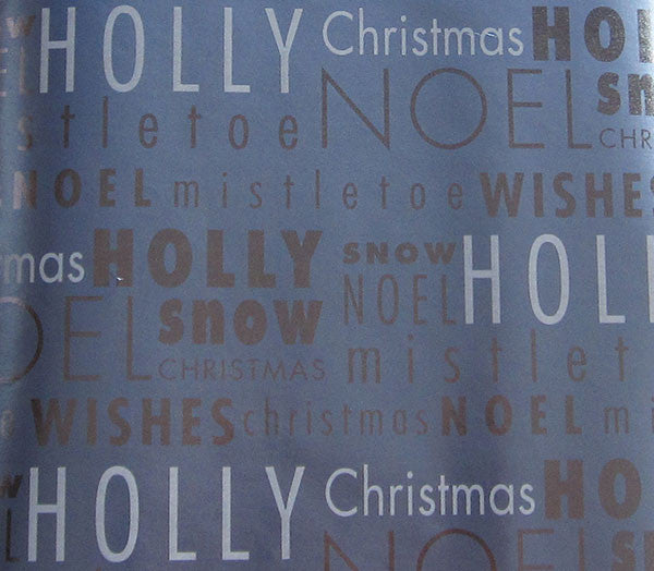 Holly & Snow Christmas Gift Wrap