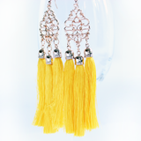 Goddess Golden Tassel Earrings