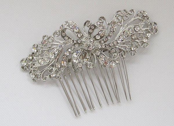 Vintage Style Crystal Wedding Hair Comb