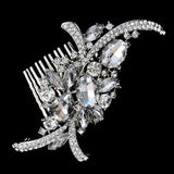 Tiffany Crystal  Bridal Hair Comb