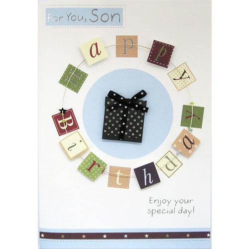 Excellent Buy Handmade Son Birthday Card For 1 49 Uneak Boutique Personalised Birthday Cards Paralily Jamesorg