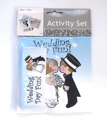 Kids Activity Set Wedding Favour
