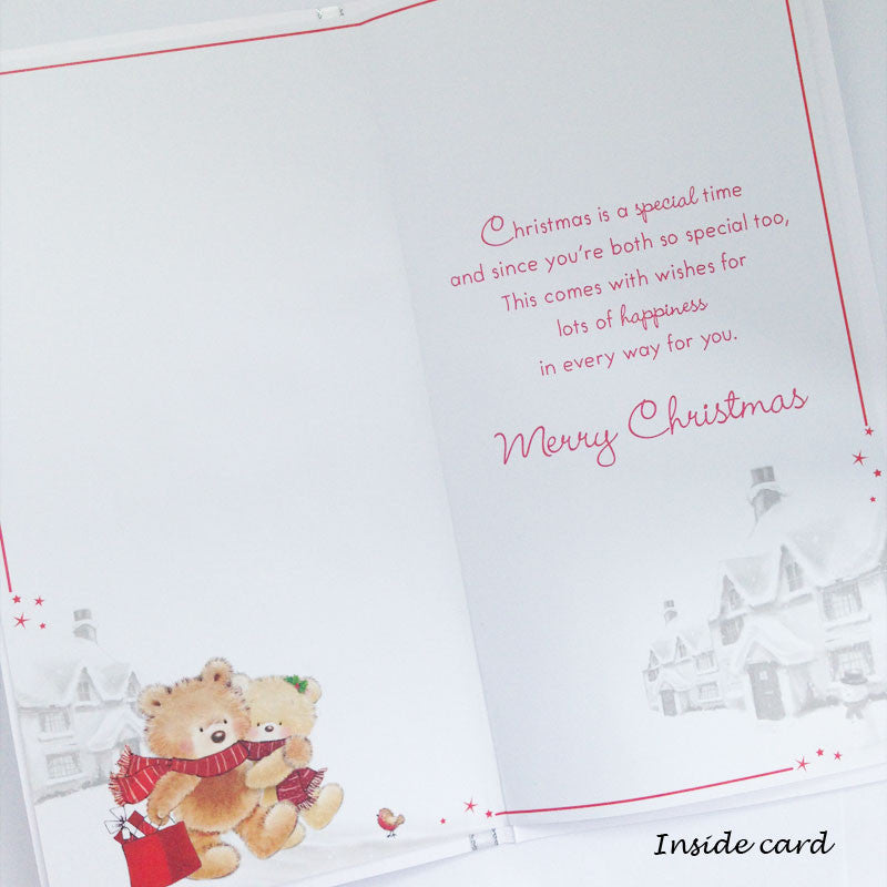 To a Special Mam and Dad Christmas Card for £1.69   Uneak Boutique