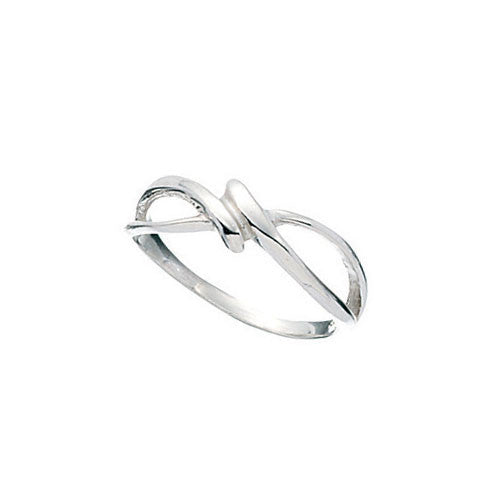 Multi -Twist Sterling Silver Ring