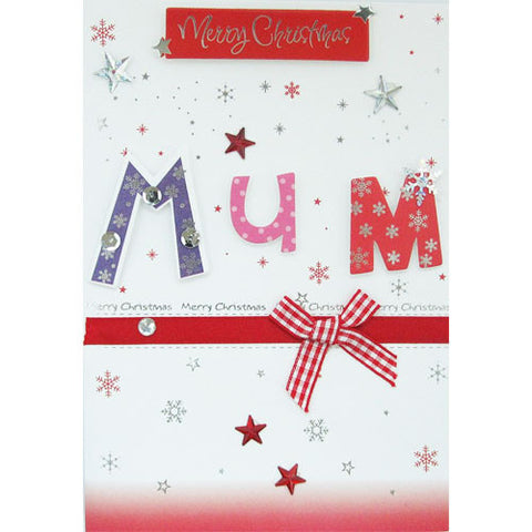 Merry Christmas Mum Christmas Card