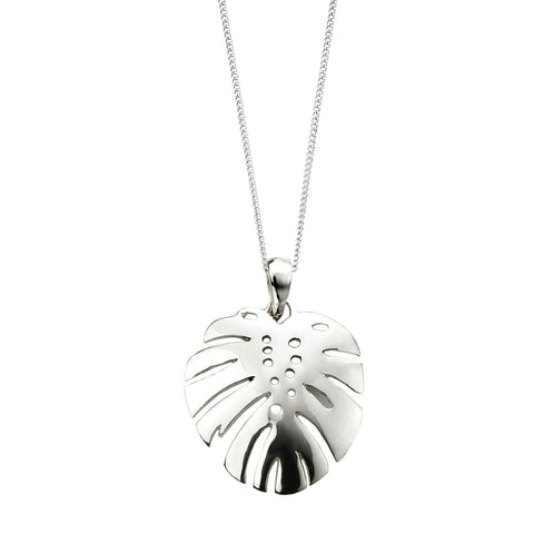 Paradise Palms Sterling Silver Pendant