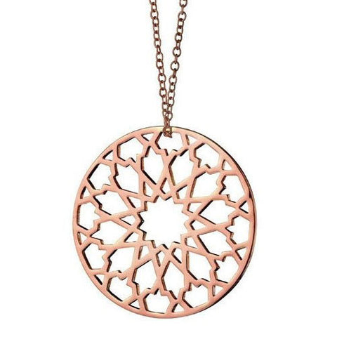 Rose Gold Fiorelli Chakra Necklace