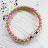 Rosy Apple Harlequin Bracelet