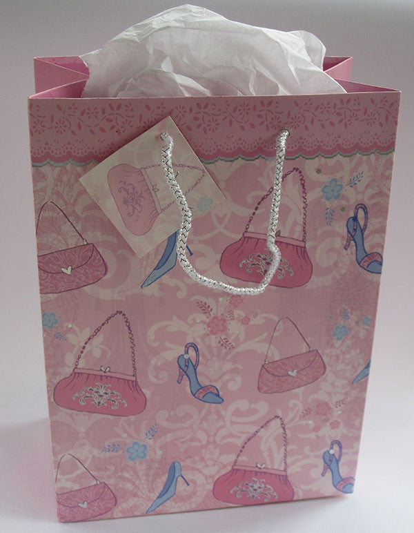 Shoes and Handbags Gift Bag
