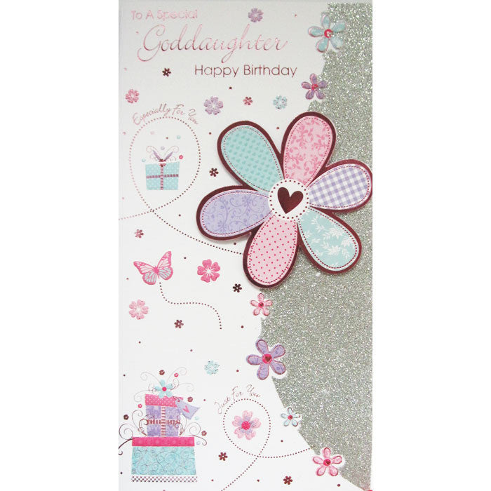 Buy Special Goddaughter Birthday Card For 129 Uneak Boutique