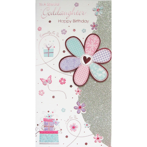 Special Goddaughter Birthday Card