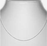 Sterling Silver Boys Belcher Chain