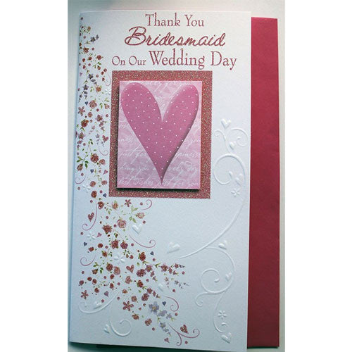 buy thank you bridesmaid card for 1 49 uneak boutique