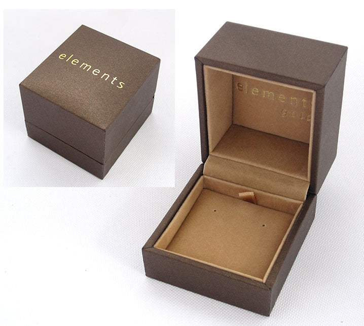 Elements Gold Earrings Box